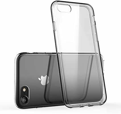 Transparent skal iPhone 8 baksida