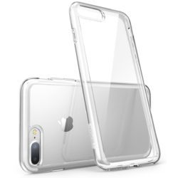 Transparent skal iPhone 7/8 Plus Baksida