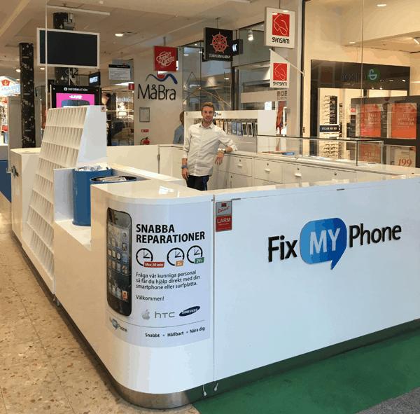 Laga iPhone reparation Jakobsberg Barkarby