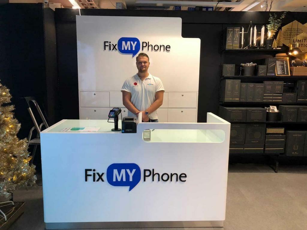 Fix My Phone >> Laga Iphone Skarholmen Centrum Clas Ohlson Fix My Phone Reparation