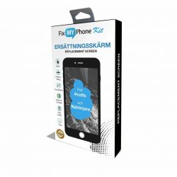 Kit – iPhone 7 Plus Skärm Display – Originalkvalité – Svart