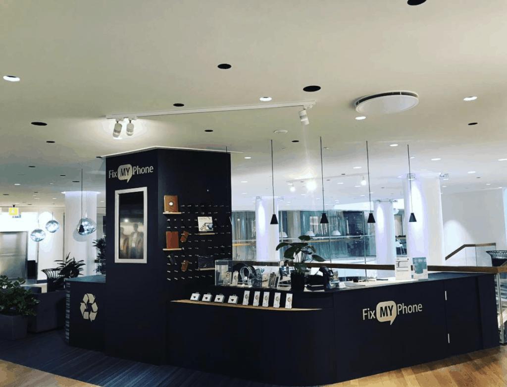 Nytt butik koncept i Arkaden