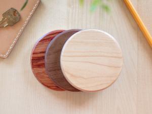 wireless charger wood maple lönn