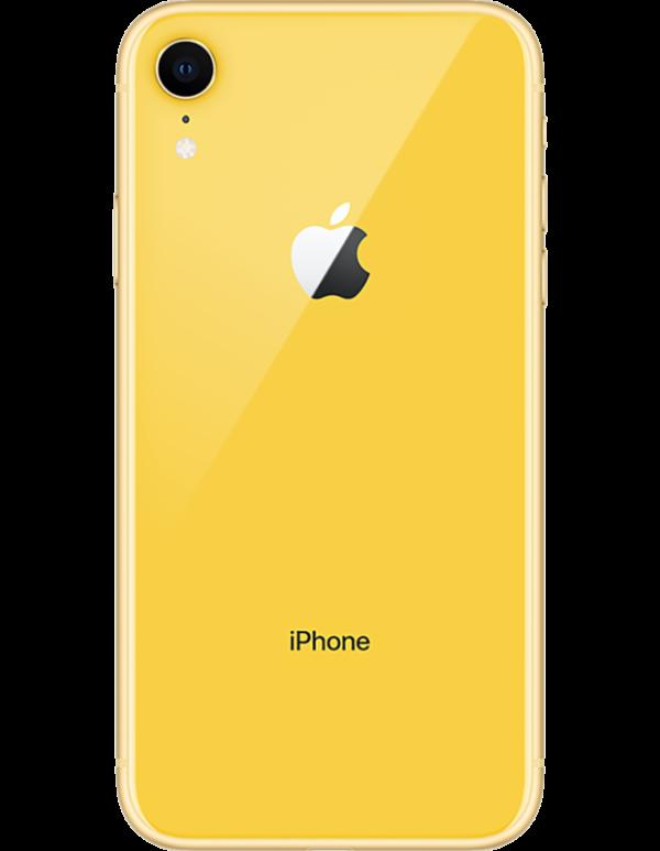 iPhone gul baksida