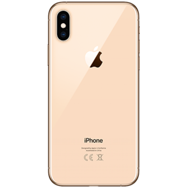 iPhone XS Baksida Guld