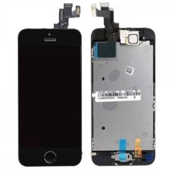 iPhone 5S/SE Skärm – Original LCD + Touch Svart