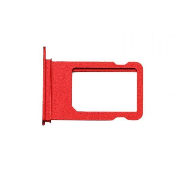 iPhone XR Simkortshållare Röd