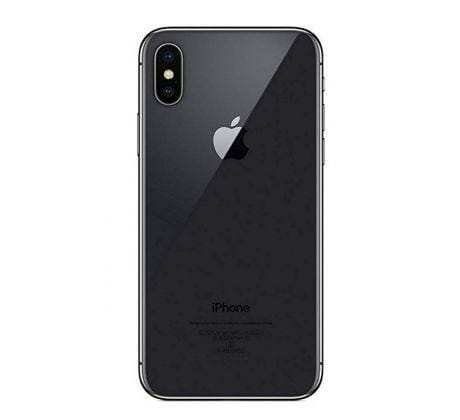 iPhone XS Max Baksida Space Gray