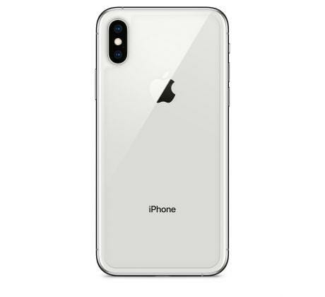 iPhone XS Max Baksida Vit