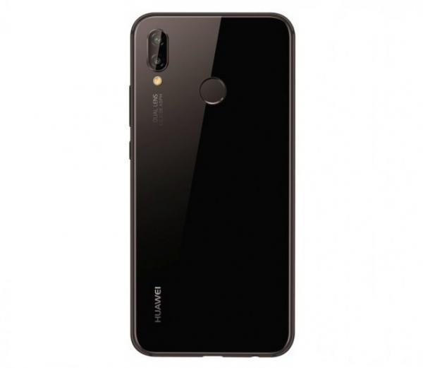 Huawei P20 Lite Baksida Svart