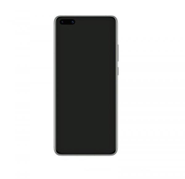 Huawei P40 Pro skärm svart