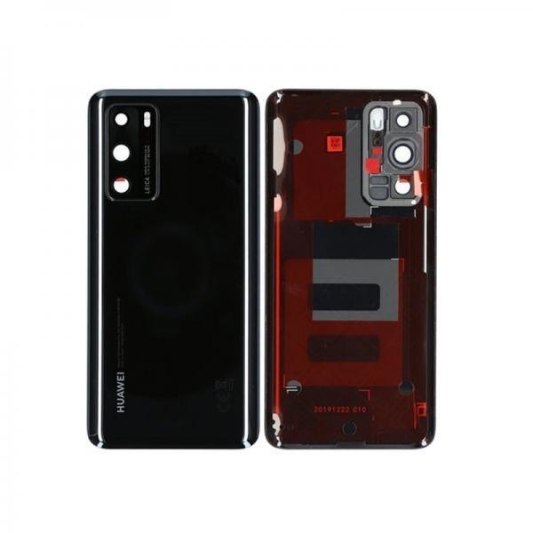 Huawei P40 baksida svart