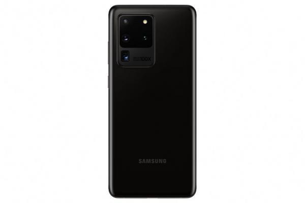 Samsung Galaxy S20 Ultra Baksida Svart