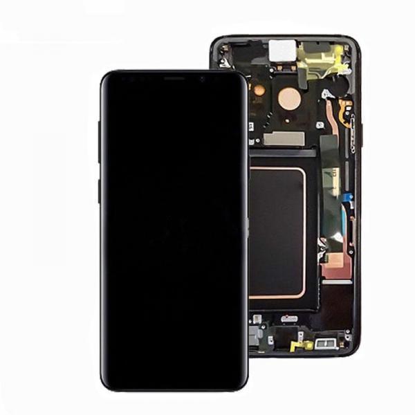 Samsung Galaxy S9 Plus skarm svart