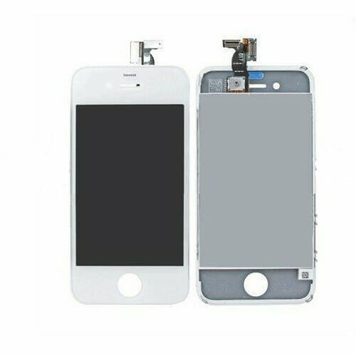 iPhone 4S Skärm Kvalitet Original LCD + Touch – Vit