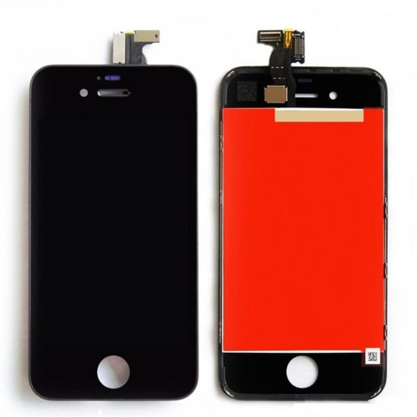 iphone 4 skärm svart