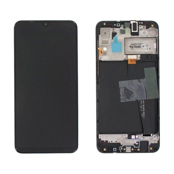 Samsung Galaxy A10 Skärm Svart