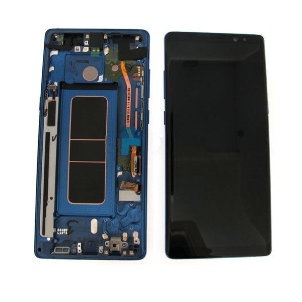 Samsung Galaxy Note 8 skarm bla