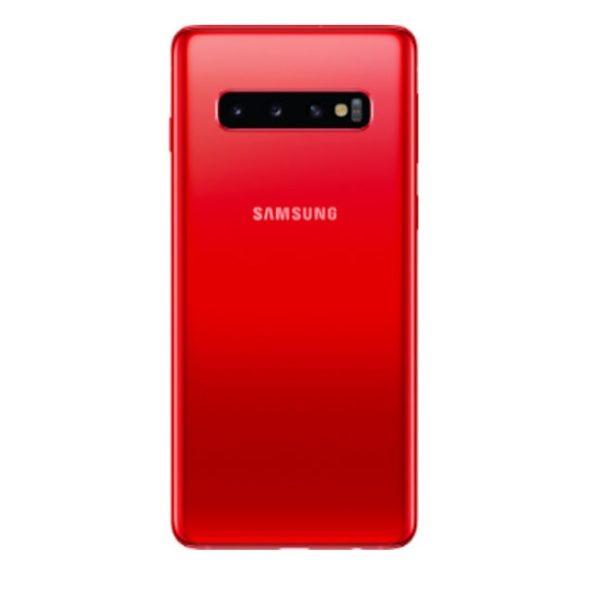 Samsung Galaxy S10 Plus baksida Röd