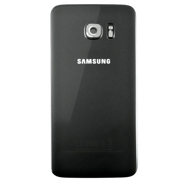 Samsung Galaxy S7 Edge Baksida Svart