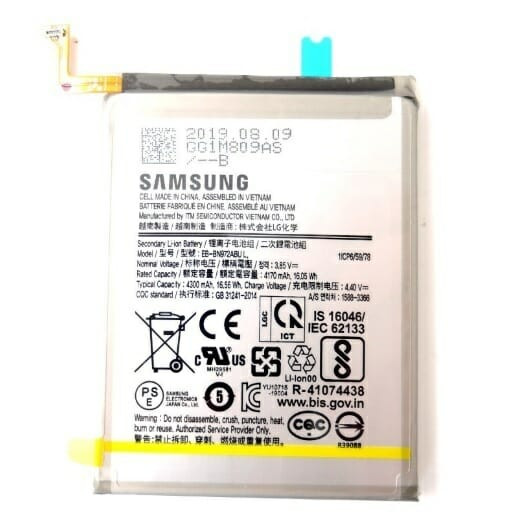 Samsung Galaxy Note 10 Batteri