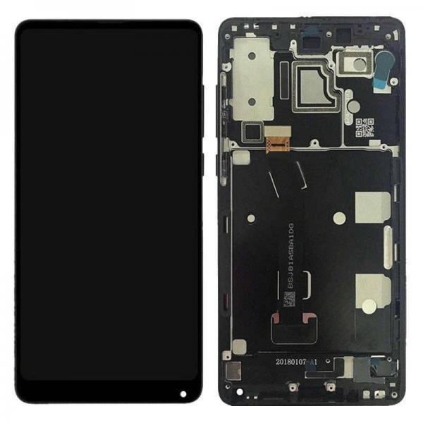 Xiaomi Mi Mix 2S Skärm Svart