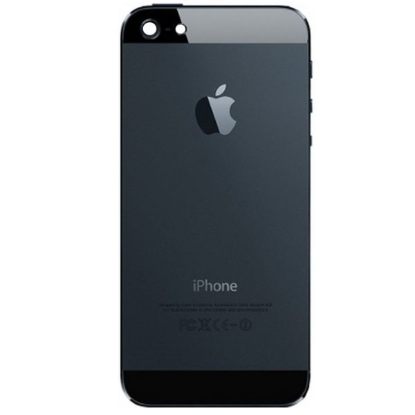 iPhone 5 baksida svart