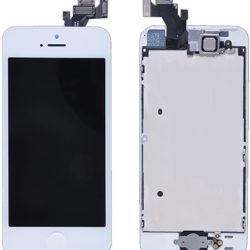 iPhone 5 Skärm Kvalitet Original LCD + Touch – Vit