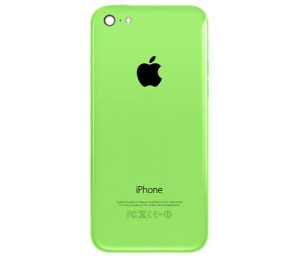 iPhone 5C baksida Gron