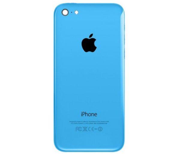 iPhone 5c baksida blå