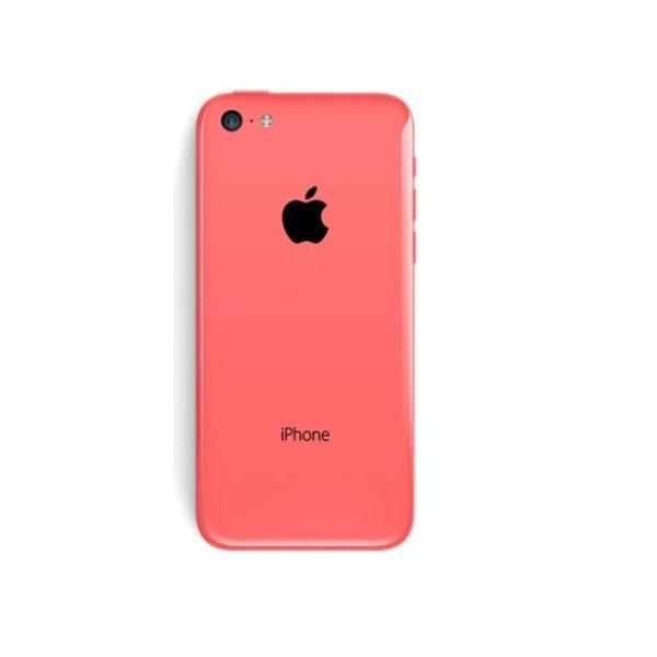 iPhone 5c baksida rosa