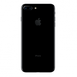 iPhone 7 Plus Baksida Jet Black
