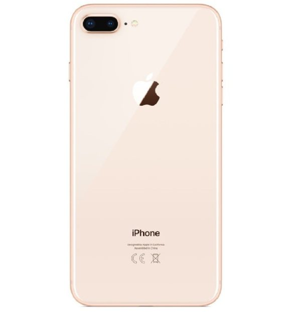 iPhone 8 Plus Baksida Guld