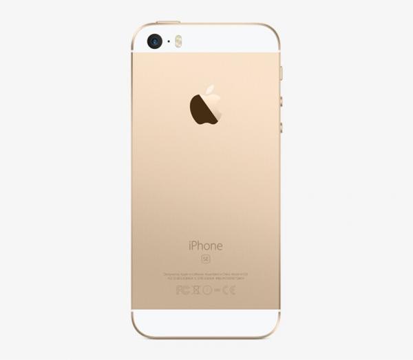 iPhone SE Baksida Guld