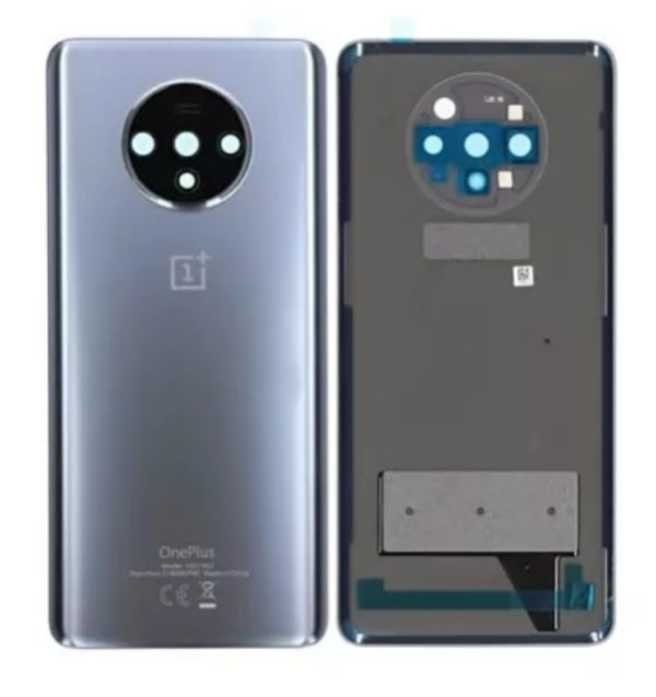 OnePlus 7T Baksida Silver