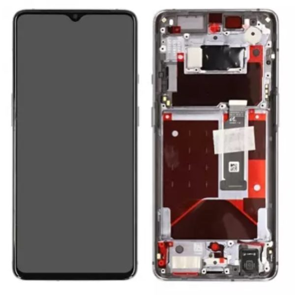 OnePlus 7T Skärm Silver