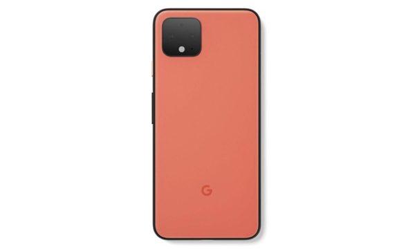 Google Pixel 4 XL baksida Orange