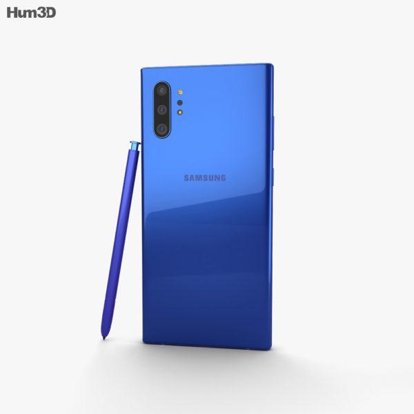 Samsung Galaxy Note 10 Plus baksida Aura Blå