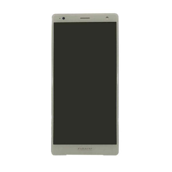 Sony Xperia XZ2 skärm silver