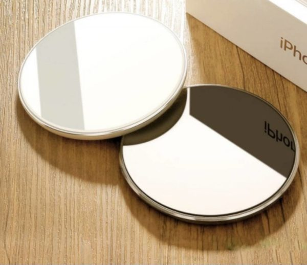 Wireless Charger Mirror Black