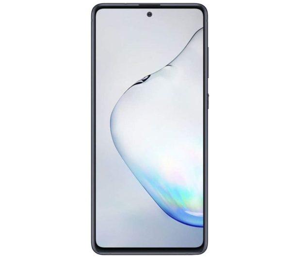 Samsung Galaxy Note 10 lite skärm svart