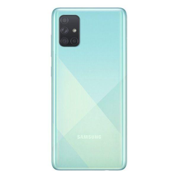 Samsung Galaxy A71 Baksida Blå